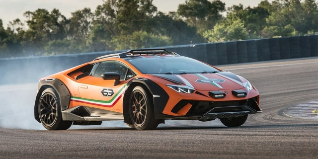 Off-road Lamborghini Huracan will provide serial performance