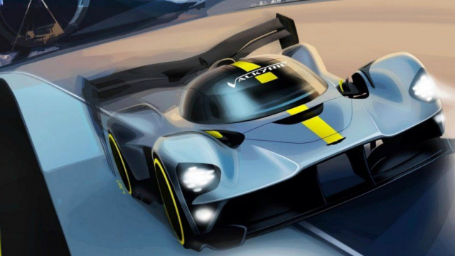 Aston Martin Valkyrie will try to become the champion of the 'Nurburgring'