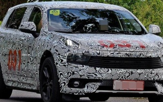 Lotus first crossover went to tests