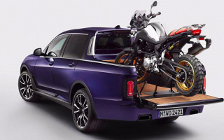 BMW X7 became a pickup