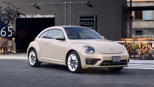 Volkswagen Beetle left the conveyor for the last time