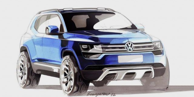 Volkswagen's new SUV debuts in 2021