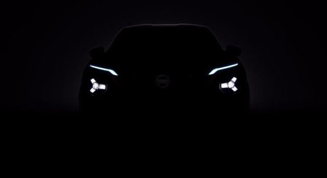 Nissan Juke 2020 reappeared on the teaser