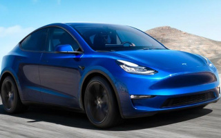 When will the production of a new SUV from Tesla start?