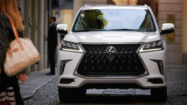 Lexus has introduced more aggression into the LX SUV