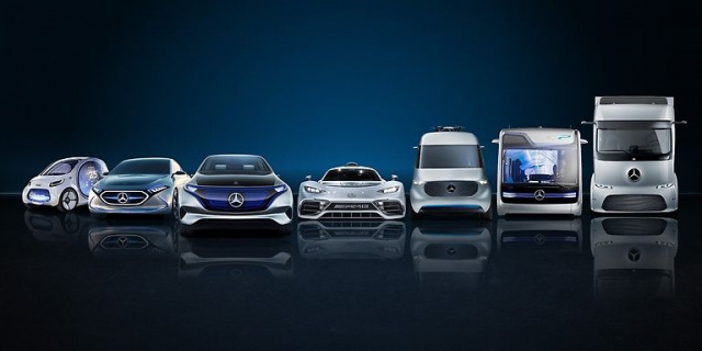 Daimler has prepared several new products for Frankfurt