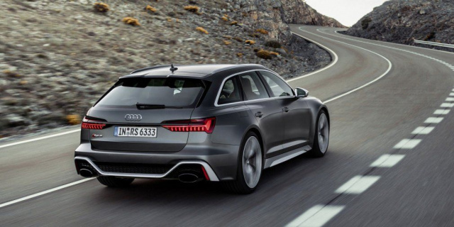 The new generation of Audi RS6 Avant wagon received a 600-horsepower unit