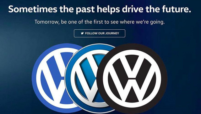 Volkswagen change the logo