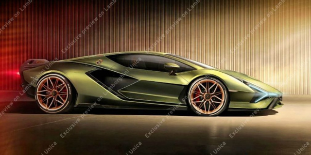 First Lamborghini super hybrid declassified by design