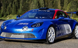 Alpine A110 will participate in the rally