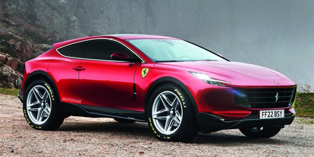 Ferrari opens the curtain of its first SUV