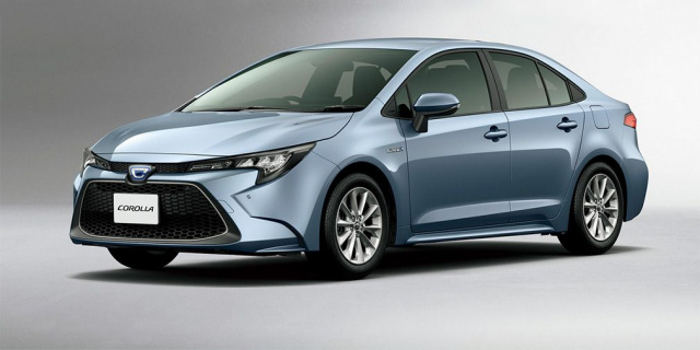The new generation of Toyota Corolla decreased in size