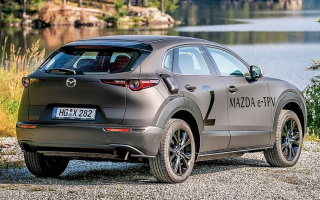 Revealed the premiere date of the first electric vehicle from Mazda