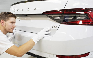 The first hybrid car from Skoda goes into production