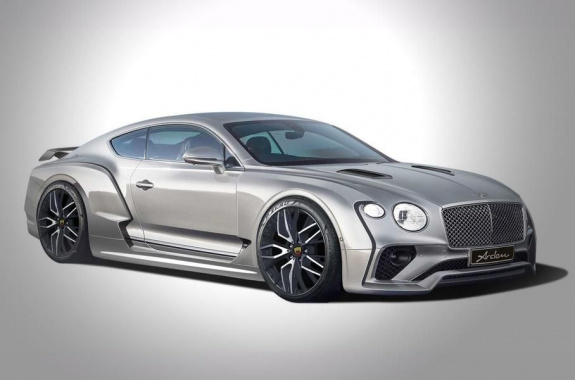 The tuning studio built a wide-angle Bentley Continental GT