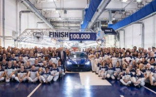 Maserati made 100 thousand Ghibli Sedans in 6 years