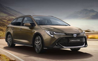 Toyota has prepared a new Corolla Touring Sports track version