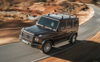 Mercedes-Benz G-Class received an exclusive salon