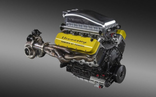 "Hennessey Venom F5 Hypercar will receive a motor for 1842 ""horses"""