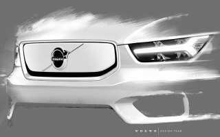 Electric Volvo XC40 more declassified
