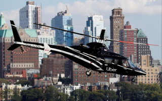 Uber Helicopter Taxi Available In New York
