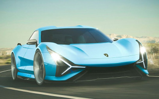 The first electric car from Lamborghini should be expecting for 2025