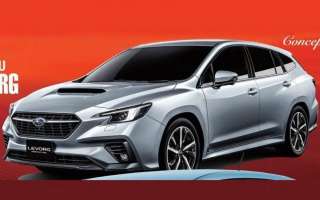 Subaru declassified the new wagon ahead of schedule