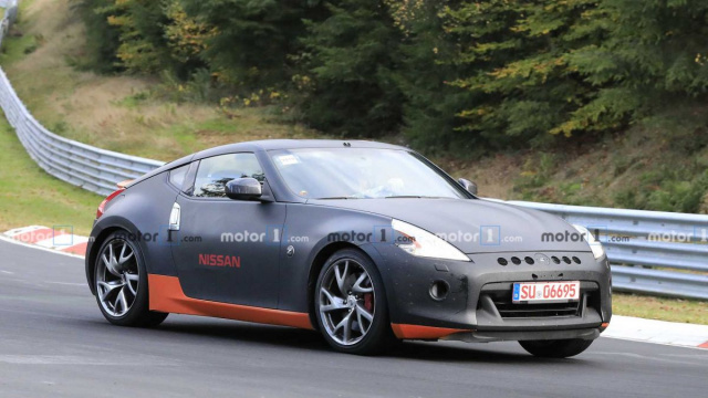 New Nissan 370Z spotted at Nurburgring
