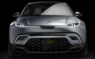 New Fisker SUV showed on the picture