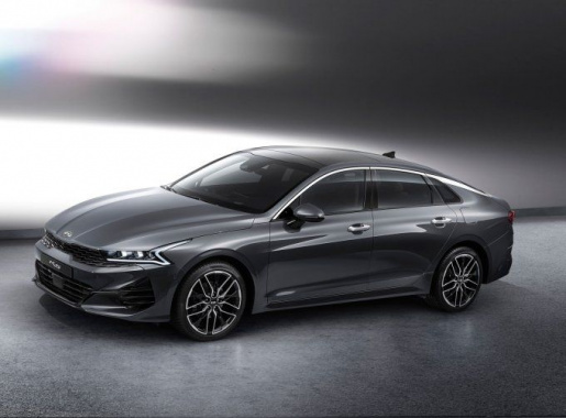 The new KIA Optima showed on official photos