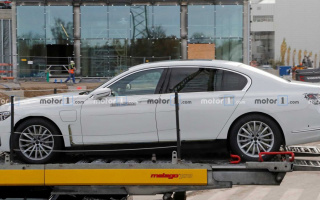 The first tests started for BMW i7