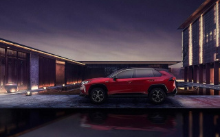 Toyota showed powerful RAV4