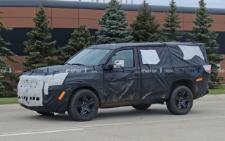 Jeep Wagoneer is being tested
