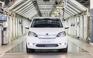 Skoda goes into the production first electric car