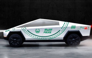 Dubai police will have a Tesla pickup