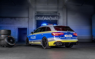 'Hot' Audi RS4 Avant turned into a patrol car