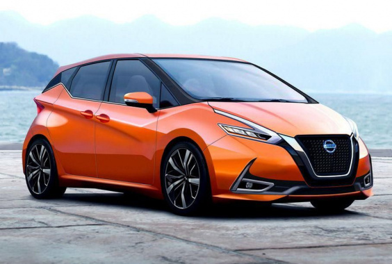 The new Nissan Note will have sliding doors