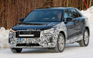 Restyled Audi Q2 first time caught on tests
