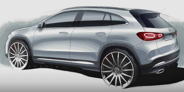 New Mercedes GLA boasts design