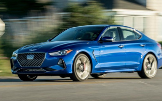 Genesis G70 sedan will provide a new turbocharged engine
