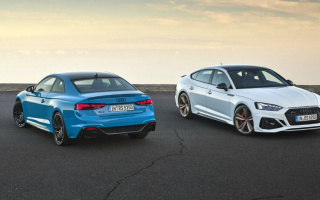 "Audi has updated the ""hot"" RS5 coupe and liftback"