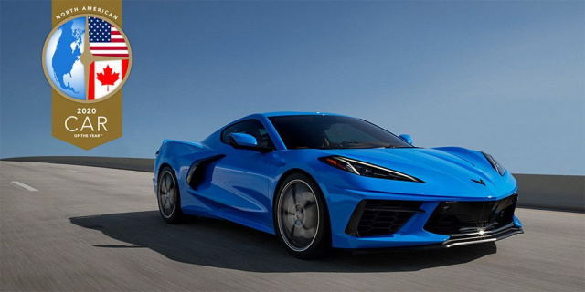 Chevrolet Corvette again recognized as the best car of the year in the US