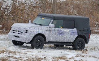 Ford Bronco 2021 first time went for tests