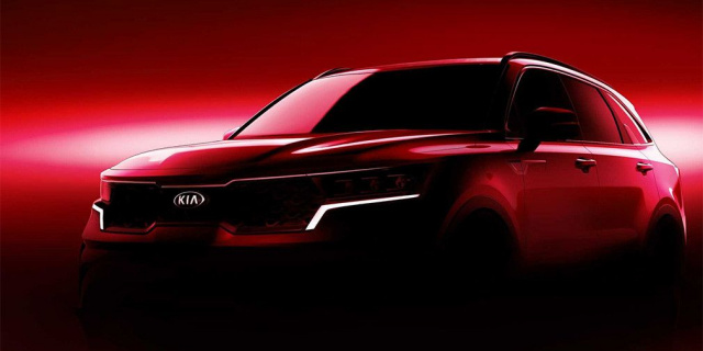 New Kia Sorento officially announced