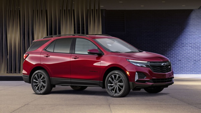 Chevrolet releases updated Equinox
