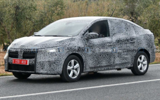 The third-generation Renault Logan goes on tests