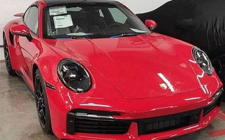 The new Porsche 911 Turbo S didn't manage to be secret