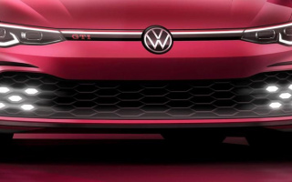 "The new ""charged"" Volkswagen Golf appeared on fresh photos"