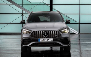 New Mercedes-AMG GLA 45 was provided with 421 hp engine