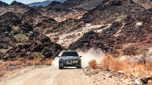 BMW iNext actively tests in South Africa